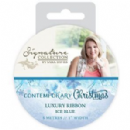Crafters Companion Sara Signature Contemporary Christmas Collection - Ice Blue Luxury Ribbon